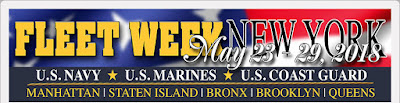Fleet Week 2018 - See the Navy and Coast Guard Vessels in the Port of New York.