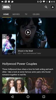 تطبيق IMDb كامل للأندرويد, تطبيق IMDb مكرك, تطبيق IMDb عضوية فيب