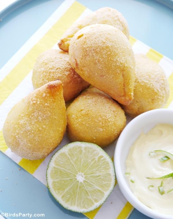 Brazilian Appetizer Coxinha de Galinha Recipe - BirdsParty.com