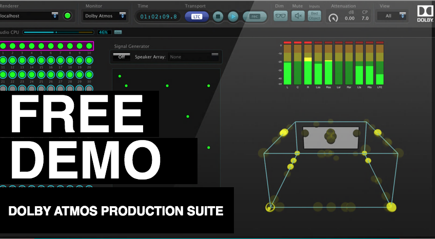 Dolby Atmos Production Suite Free 30-Day Demo