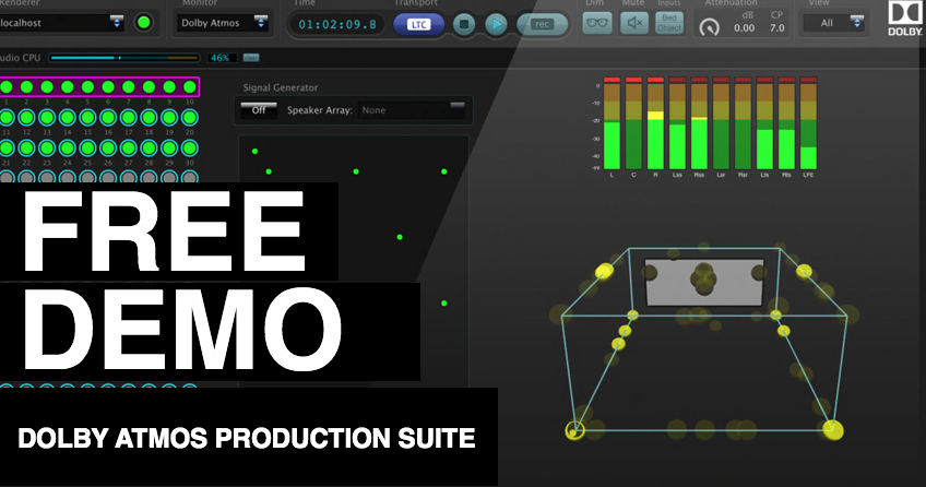 dolby atmos production suite free 30 day demo. Black Bedroom Furniture Sets. Home Design Ideas
