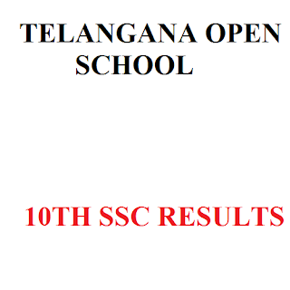 Telangana TOSS SSC 10th Results 2015