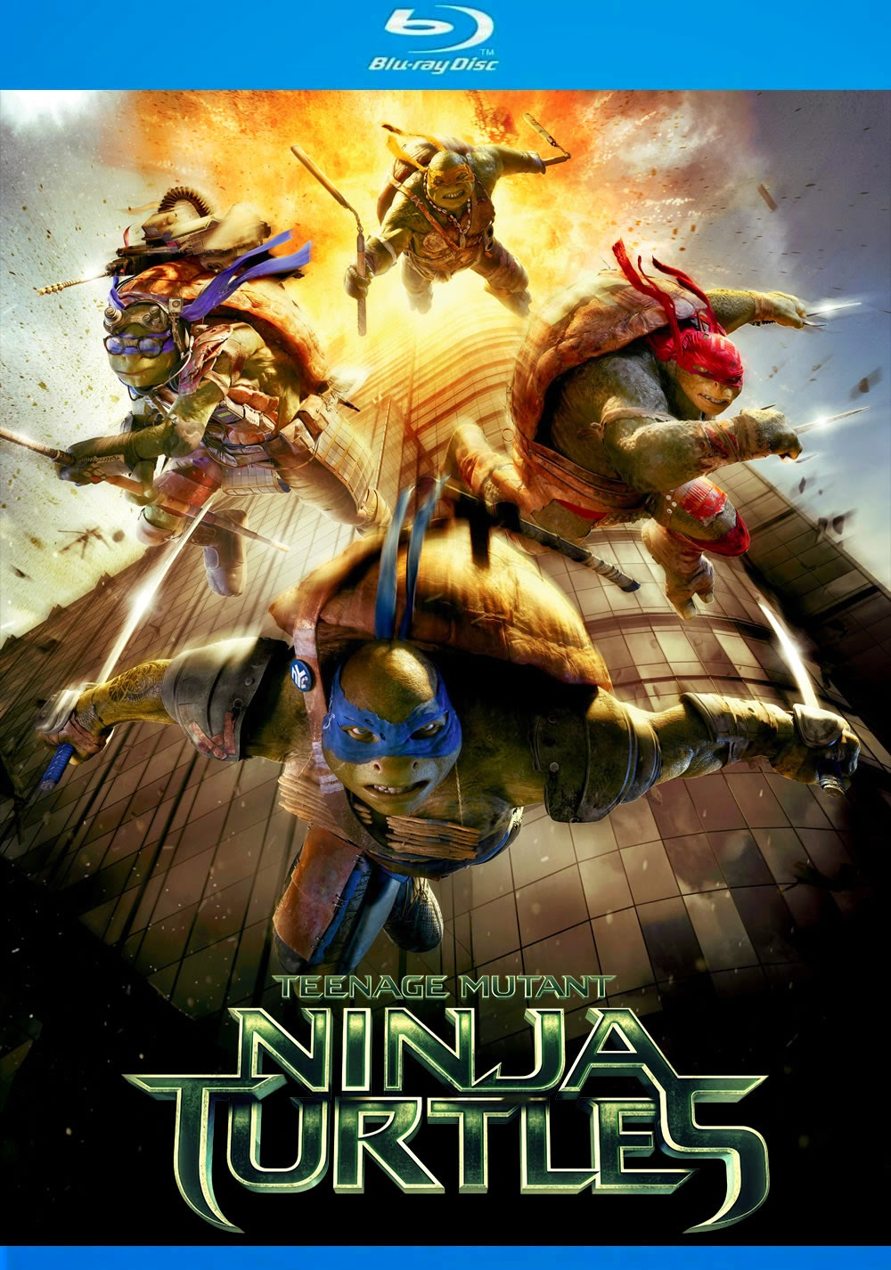Download As Tartarugas Ninjas (2014) - Dublado MP4 720p BDRip MEGA