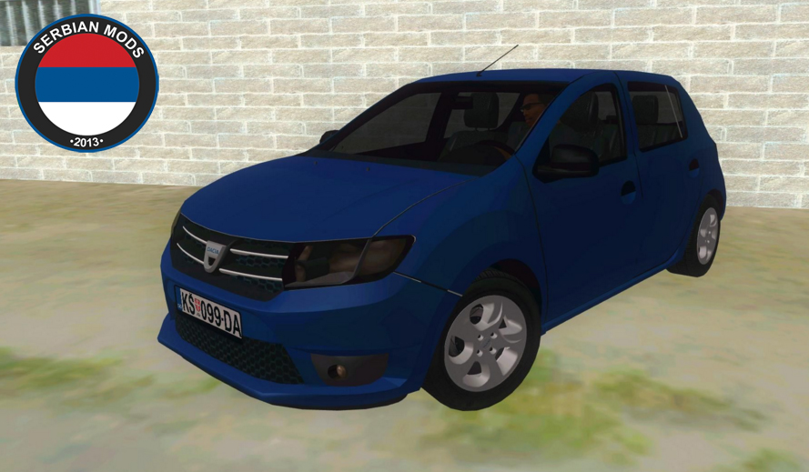 gta serbia dacia sandero 2016. Black Bedroom Furniture Sets. Home Design Ideas