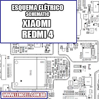 Esquema Elétrico Smartphone Celular Xiaomi Redmi 4 Manual de Serviço   Service Manual schematic Diagram Cell Phone Xiaomi Redmi 4      Esquematico Smartphone Celular Xiaomi Redmi 4