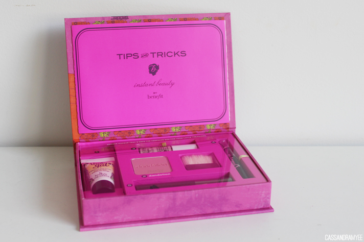 BENEFIT COSMETICS // Do The Bright Thing Makeup Kit - Review + Swatches - cassandramyee