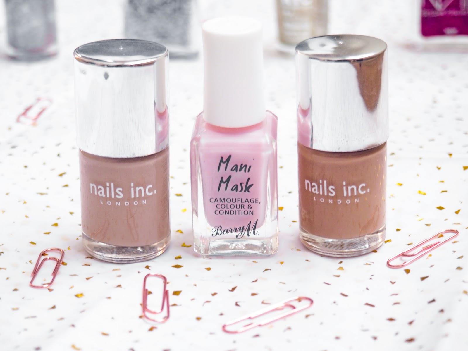 Winter Manicure Menu Nails Inc Barry M