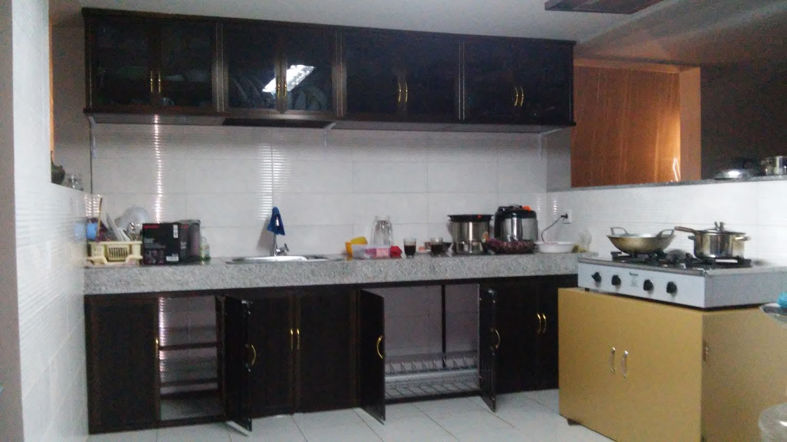 Cheap Aluminum Kitchen Set In Surabaya
