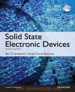 Solid State Electronic Devices, 7th Global Edition by Streetman and Banerjee