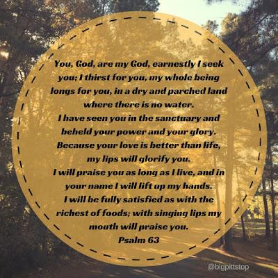 gratitude 2016 | Psalm 63 @bigpittstop #newpost
