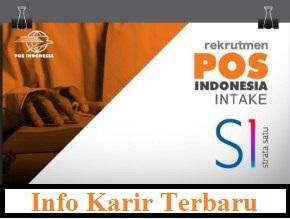 Penerimaan Karyawan PT.Pos Indonesia (Persero) Intake Strata-1 (S1)