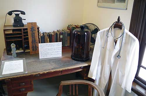 Rakugeikan Medical Museum, Gujo.
