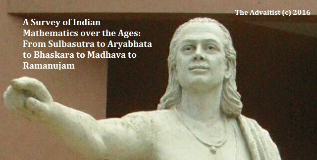 Survey of Indian Mathematics over the Ages
