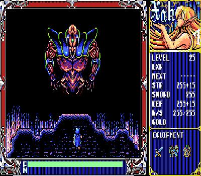 Xak - The Art of Visual Stage - Final Boss Badu