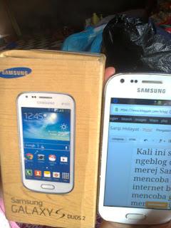 Pengalaman Ngeblog dengan HP Samsung Galaxy S Duos 2 GT-S7582
