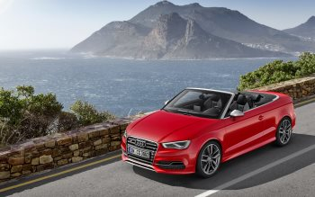 Wallpaper: Audi S3 Cabriolet 2014