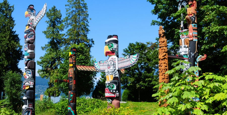 Reserva Indígena Stanley-Park-Totem