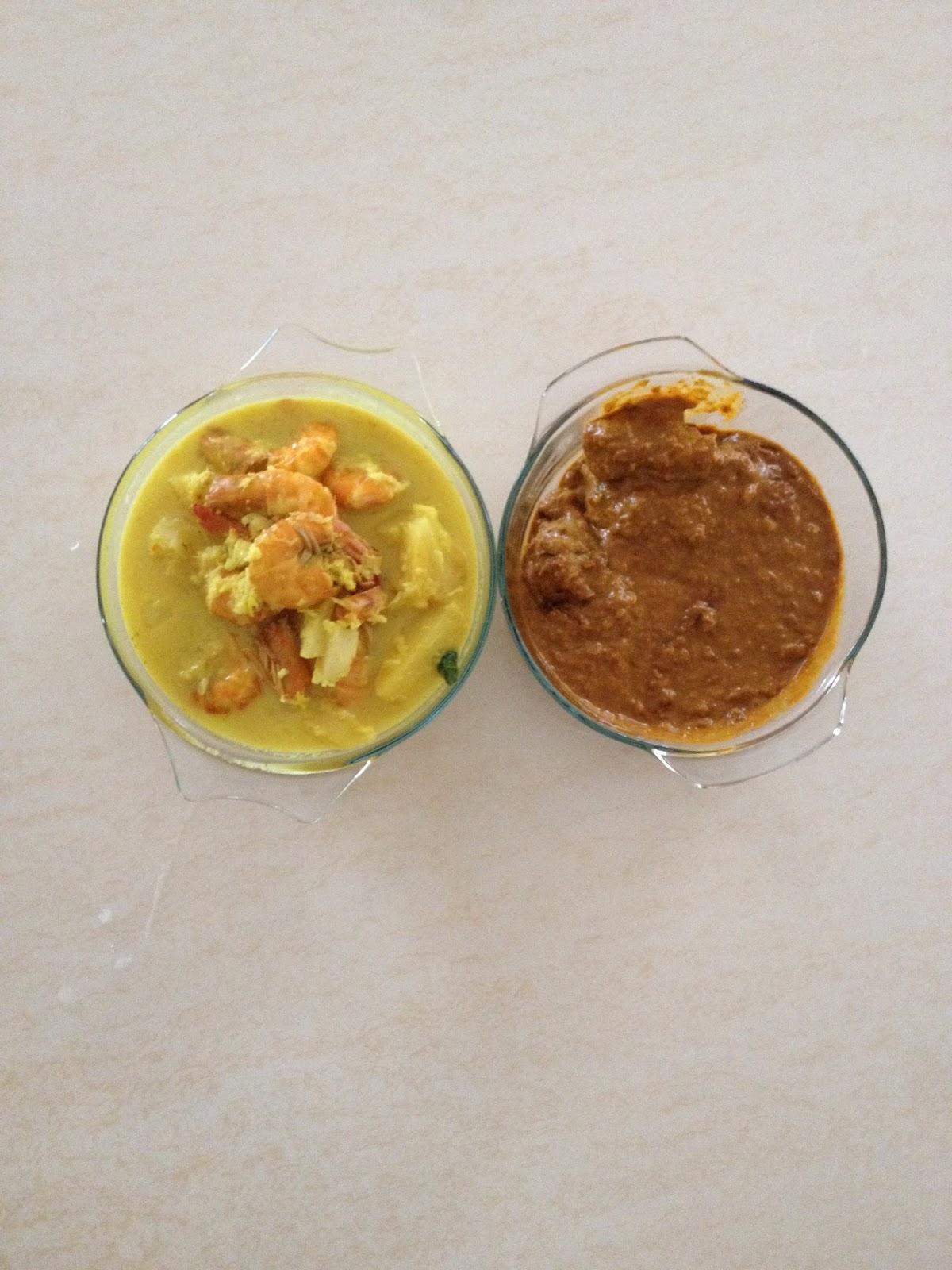 Dapur Mekqa: Udang Masak Lemak Gulai Kuning