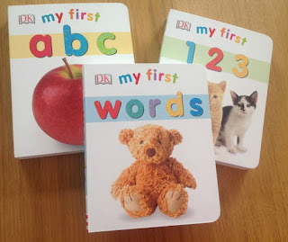 3 books;my first abc; my first 123; my first words