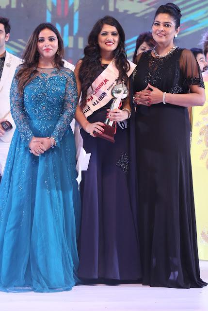 Kirti Rathore, Muskan Bisht (winner of Miss north India 2017), Avleen Khokhar