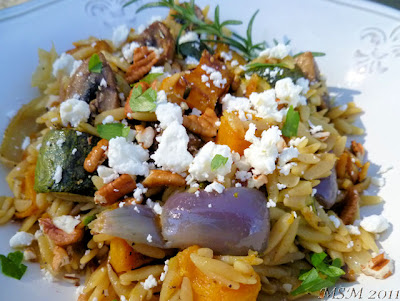 Orzo Risotto w/ Roasted Vegetables