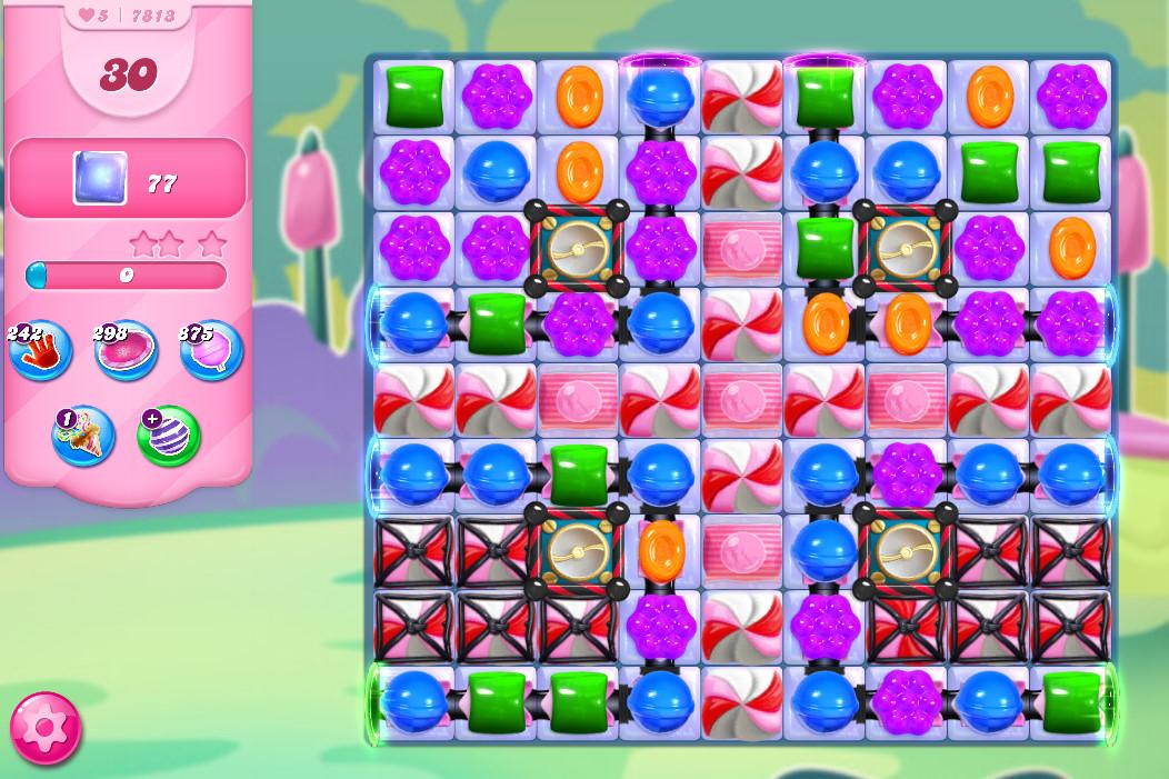Candy Crush Saga level 7813