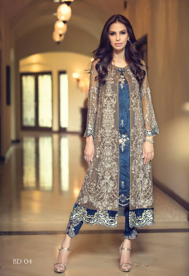 1083b748f1 Maria B Mbroidered Swarovski Collection 2015. Maria B Mbroidered Swarovski Collection  2015 Pakistani ...