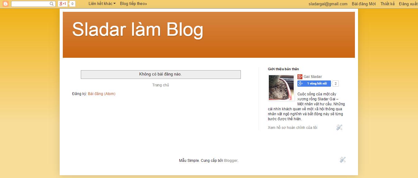 Phát triển blog thư pháp Thanh Phong