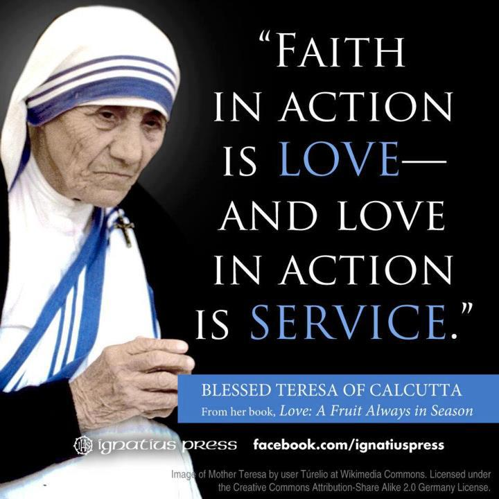 Catholic Quotes Mother Teresa: Pearl Of Great Price: To Love After God's Own Heart (31st