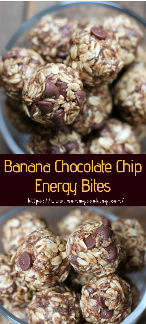 Banana Chocolate No Bake Energy Balls #recipeeasy #mealsnobake