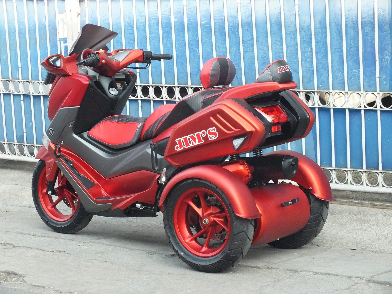 modifikasi jok motor jok yamaha nmax milik bro jims