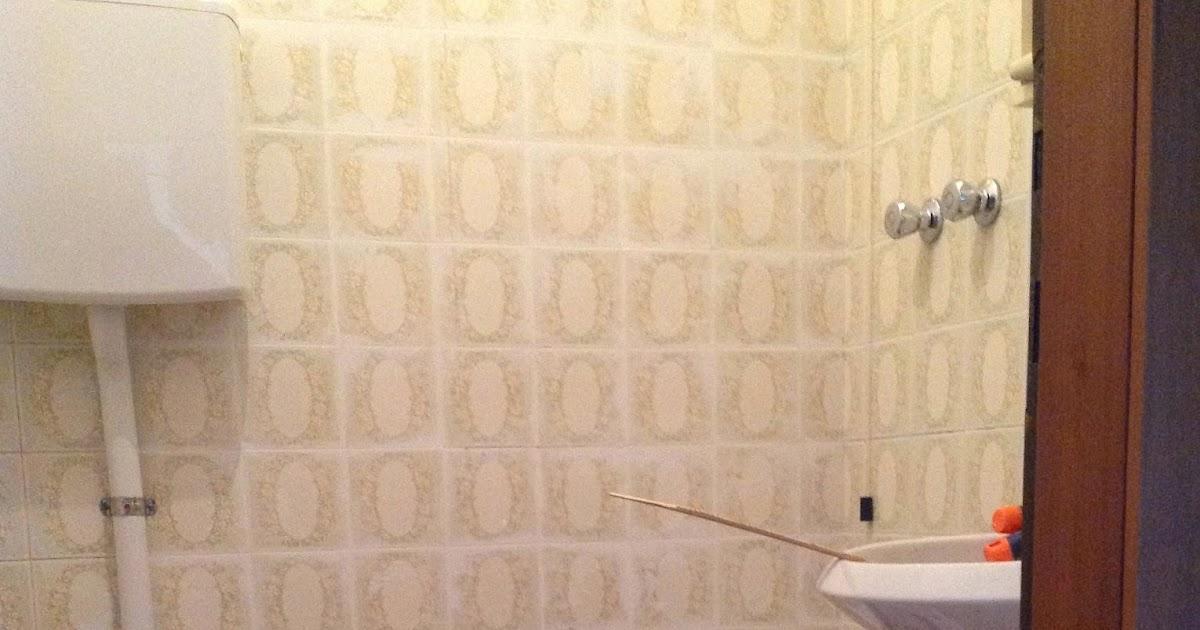 Le cose di bibbi coprire le piastrelle del bagno - Coprire mattonelle bagno ...