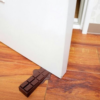 Chocolate Door Stopper