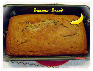 bananas, bread, baking