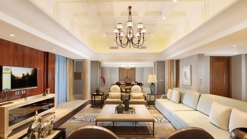 Penampakan kamar presidential suite Hotel Tentrem Yogya