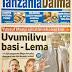 HAYA HAPA MAGAZETI YA LEO JUMAMOSI MAY 20, 2017 - NDANI NA NJE YA TANZANIA