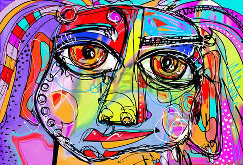 Cuadros modernos cuadros de ojos dise os abstractos en pinturas modernas - Disenos de cuadros ...