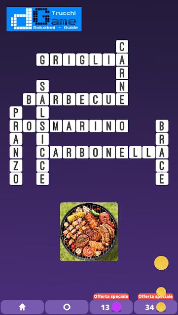 Soluzioni One Clue Crossword livello 2 schema  6 (Cruciverba illustrato)  | Parole e foto
