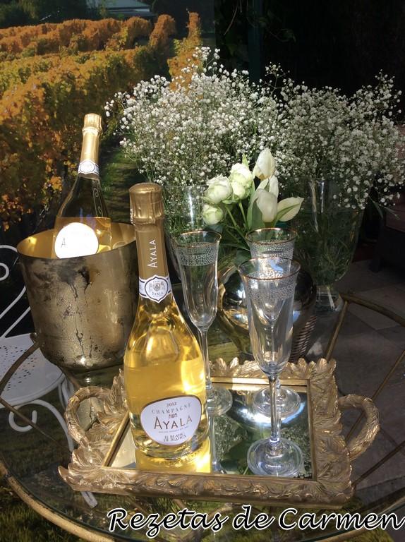 Presentación del champagne Ayala Le Blanc de Blancs 2012