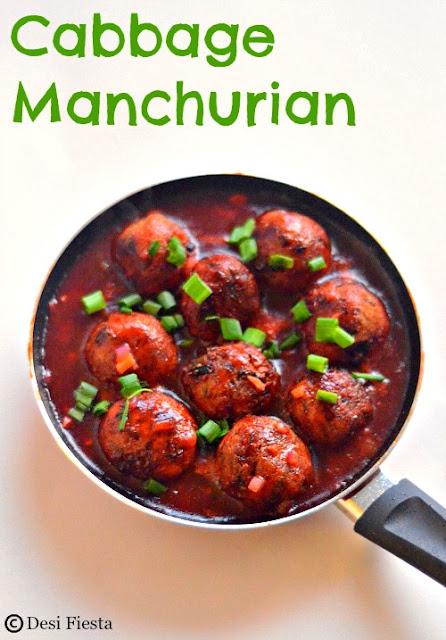 Manchurain recipe