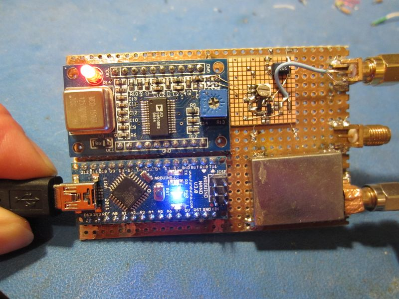 HF Antenna Analyser With Arduino and DDS Module Electronics