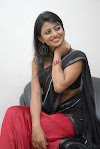 Kayal Anandhi Beautiful Tollywood Actress in Hot Half Black Saree