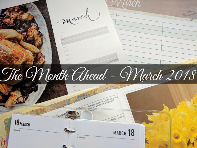 month ahead march 2018