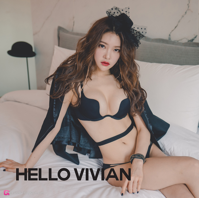 Park Jung Yoon - Lingerie Set - very cute asian girl - girlcute4u.blogspot.com (4)