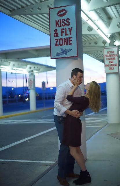 Kiss at the Airport