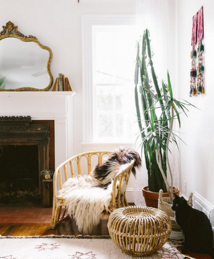 El estilo Boho de la casa de Carley Summers