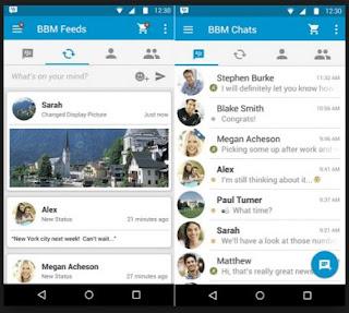 tampilan aplikasi bbm