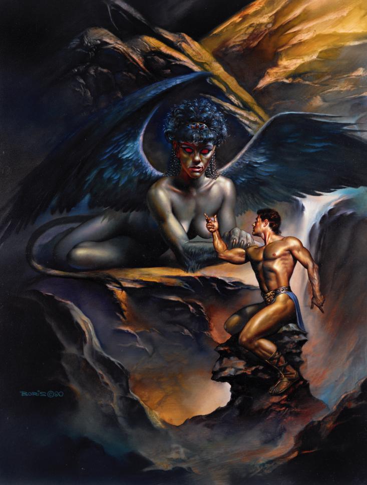 Fenix - Obras de Boris Vallejo ~ O melhor no campo da fantasia - Peruano