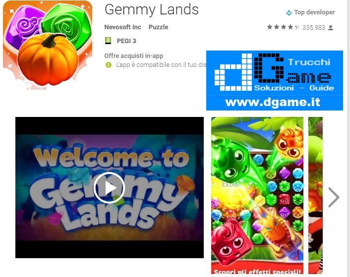 Soluzioni Gemmy lands livello 01 02 03 04 05 06 07 08 09 10 | Trucchi e  Walkthrough level