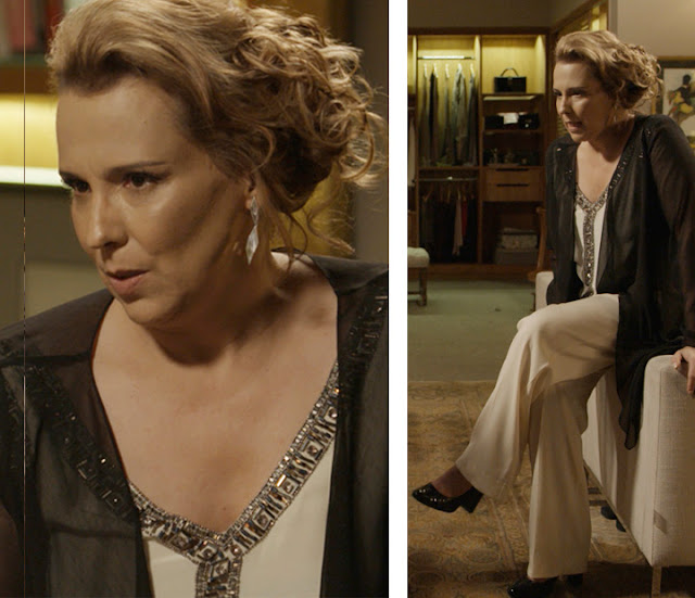 Emilia (Ana Beatriz Nogueira) figurino, Além do tempo
